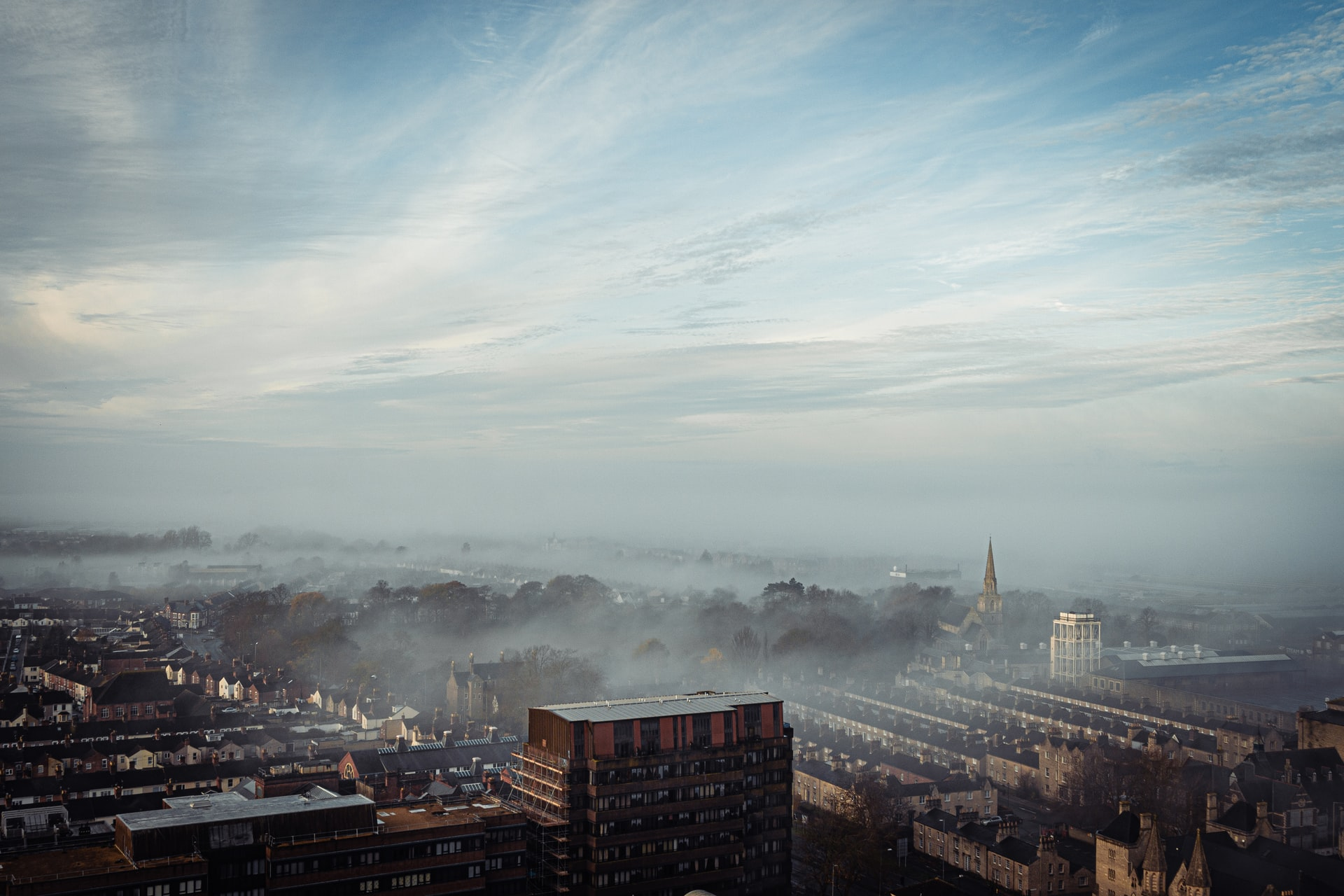 Onesnažen zrak v mestih